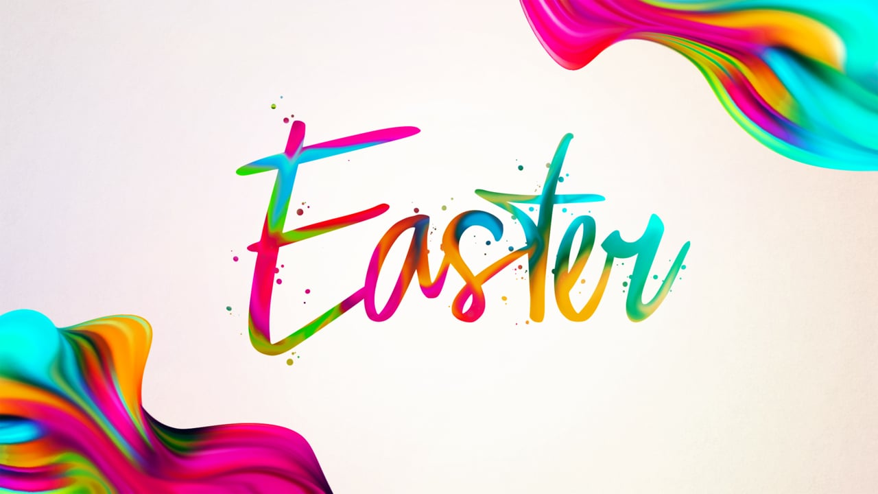 Four Words of Easter