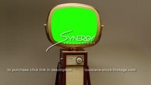 1737 green screen Philco Predicta Continental fast dolly out