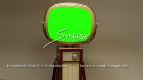 1740 Philco Predicta Continental slow dolly out green screen
