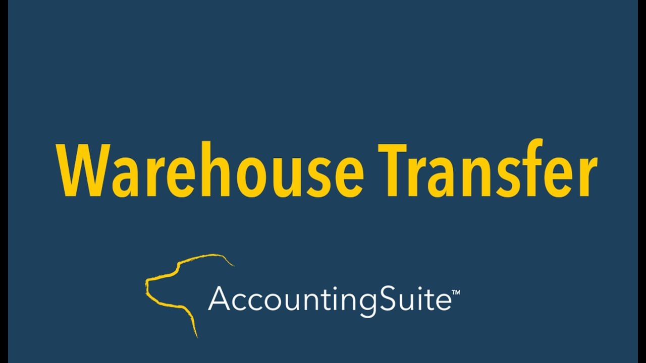 Warehouse Transfer