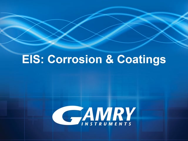 EIS of Coatings and Corrosion