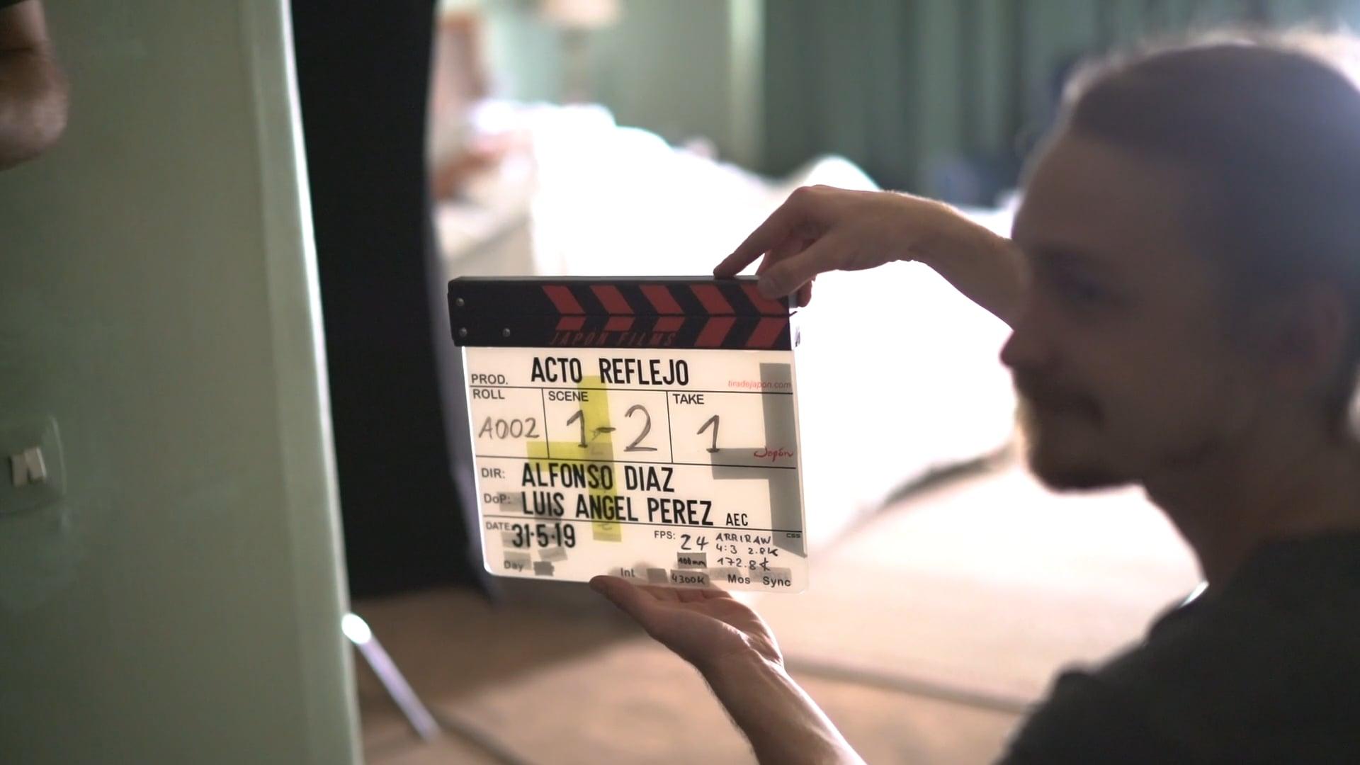 "MAKING OF - ""Acto reflejo"" (As a reflex) (Alfonso Díaz, 2020)"
