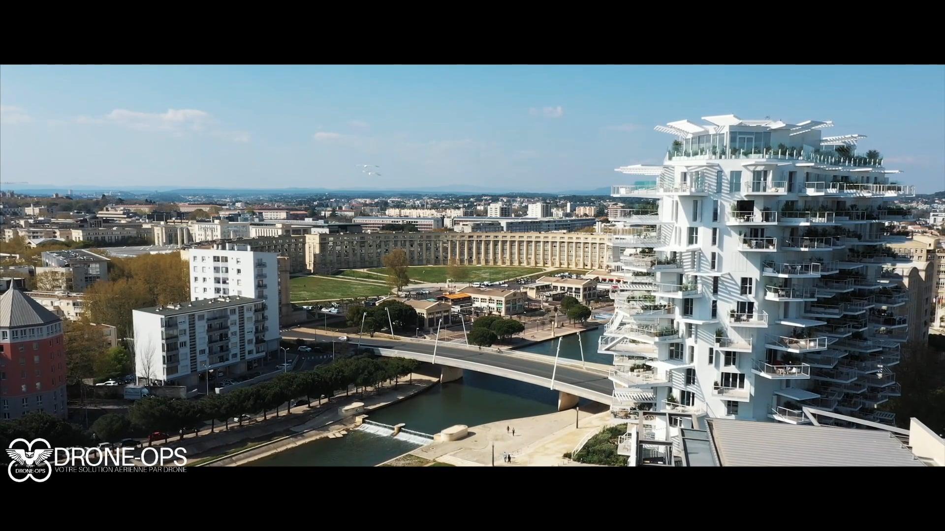 DRONE-OPS - Montpellier par drone pendant le COVID-19