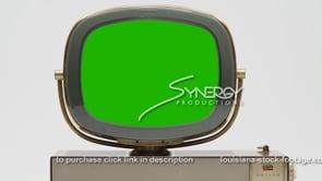 1810 Vintage Philco Predicta Princess close up green screen