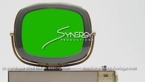 1822 Philco Predicta Princess tv left justified green screen visual effects