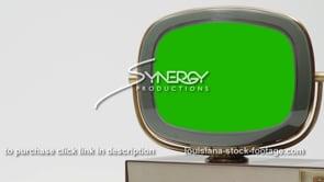 1824 Philco Predicta Princess tv right justified close up green screen