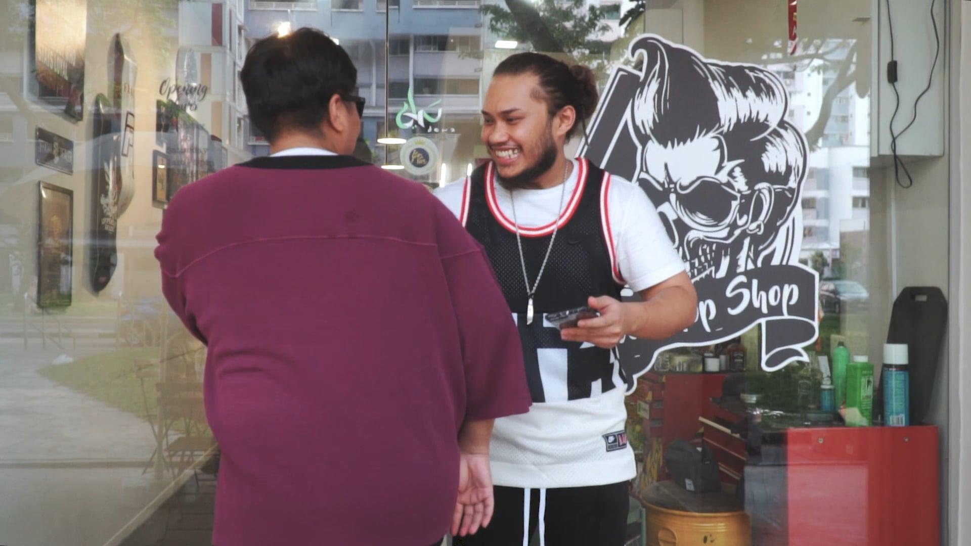 Acidic Barber Shop Branding Video