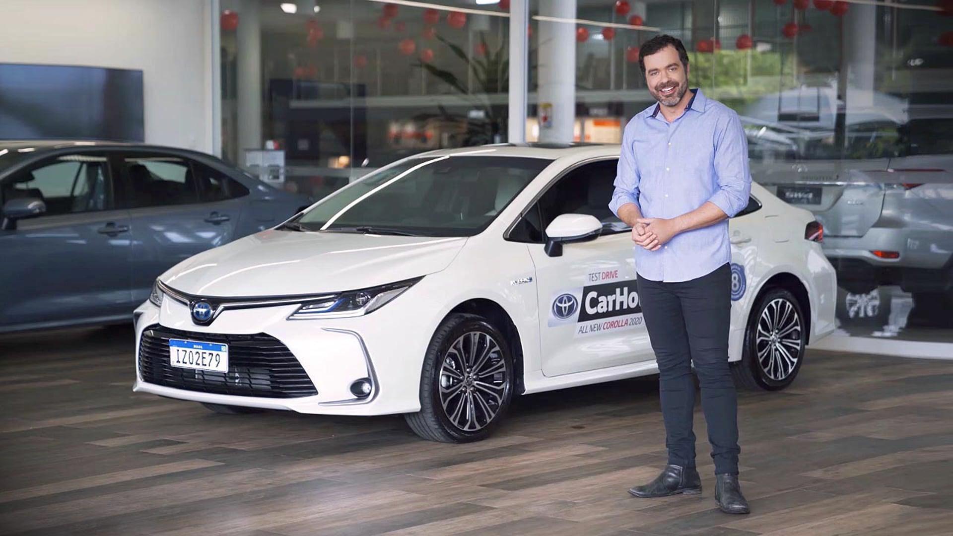 Test Drive Corolla 2020 Carhouse Porto Alegre