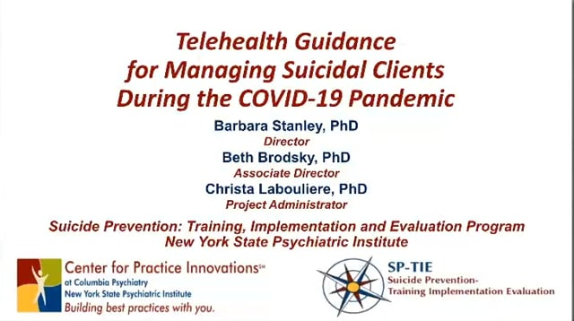 SP-TIE Telehealth with suicidal clients during COVID-19_04-07-2020 cropped v2