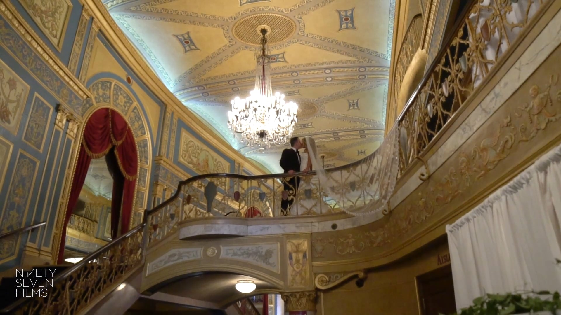 Detroit Opera House Jewish Wedding | Ashley + David Wedding Film
