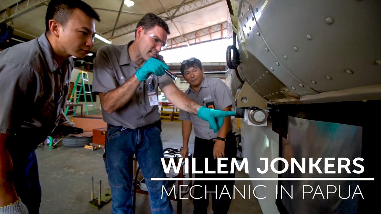 Willem Jonkers - Mechanic in Papua