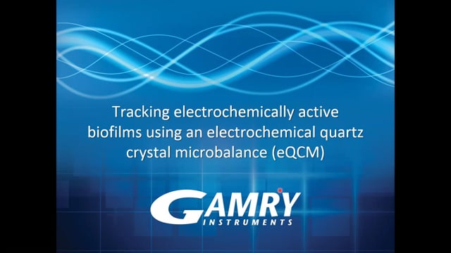 Tracking Electrochemically Active Biofilms Using an EQCM