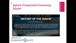 Meredith McCool: Jigsaw guest lecture