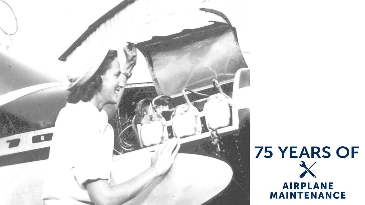 75 Years of Airplane Maintenance