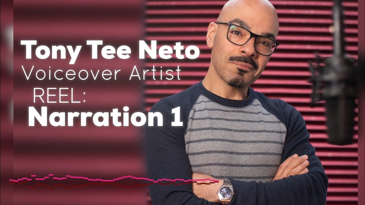 Tony Tee Neto - Voiceover Demo Reel - NARRATION 1 #drophousevo