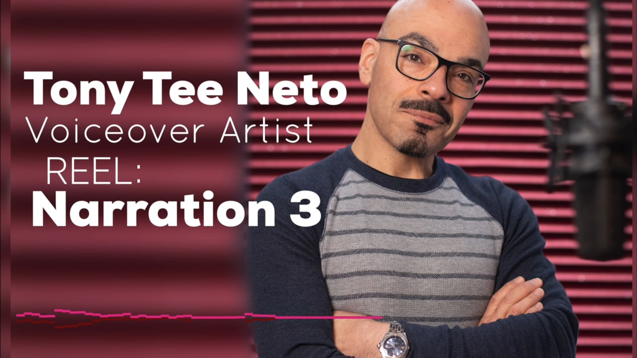 Tony Tee Neto - Voiceover Demo Reel - NARRATION 3 #drophousevo