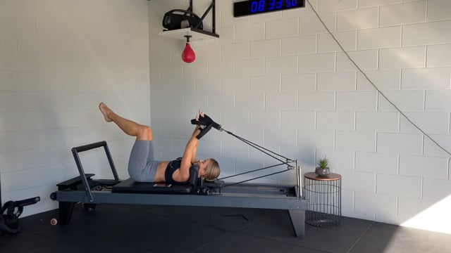 40min reformer workout thigh and inner thigh focus