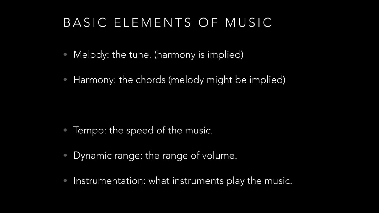 Intro to Film Music