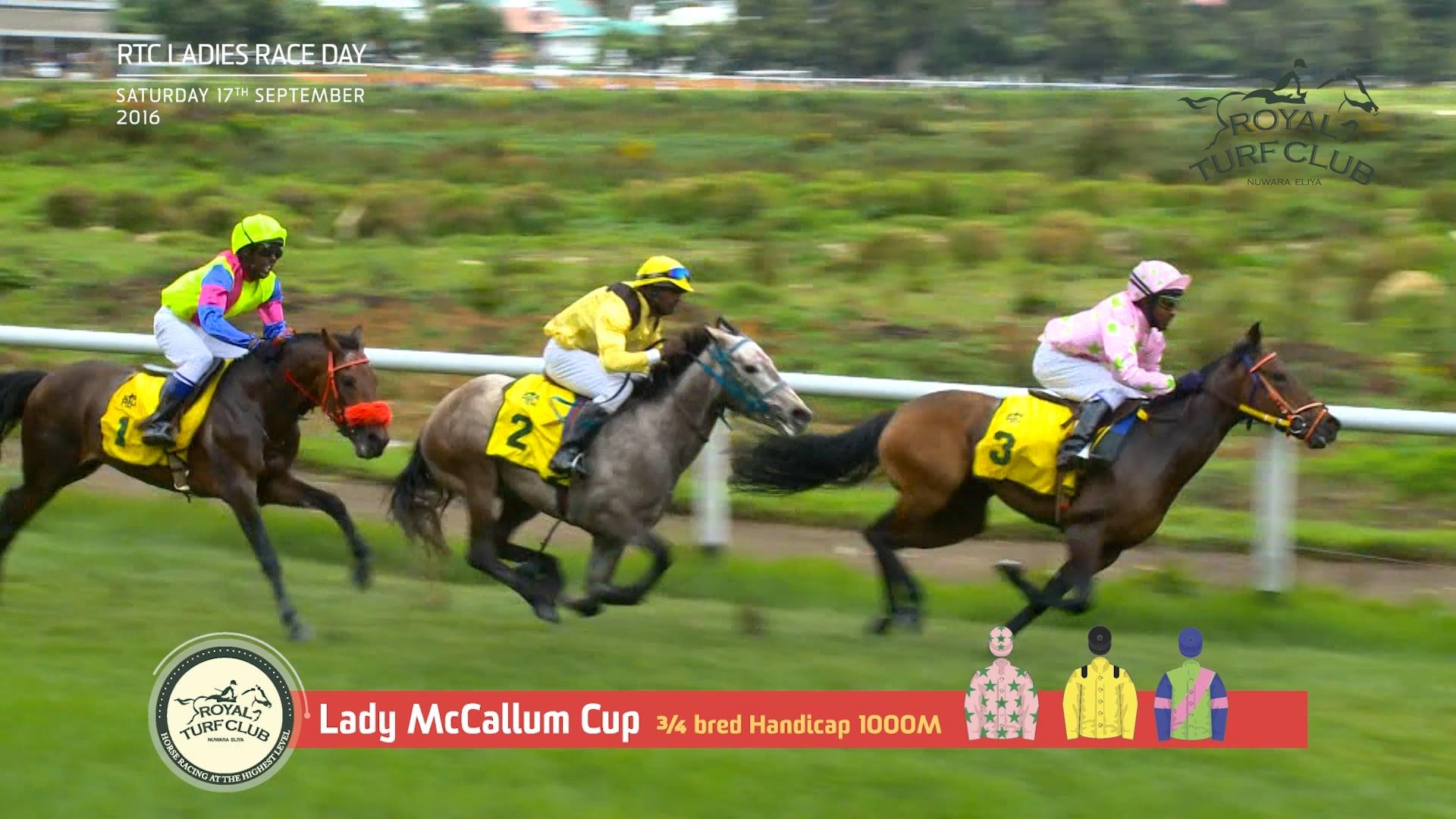 Lady McCallum Cup 2016