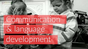 Watch Learning through play - Communication & language