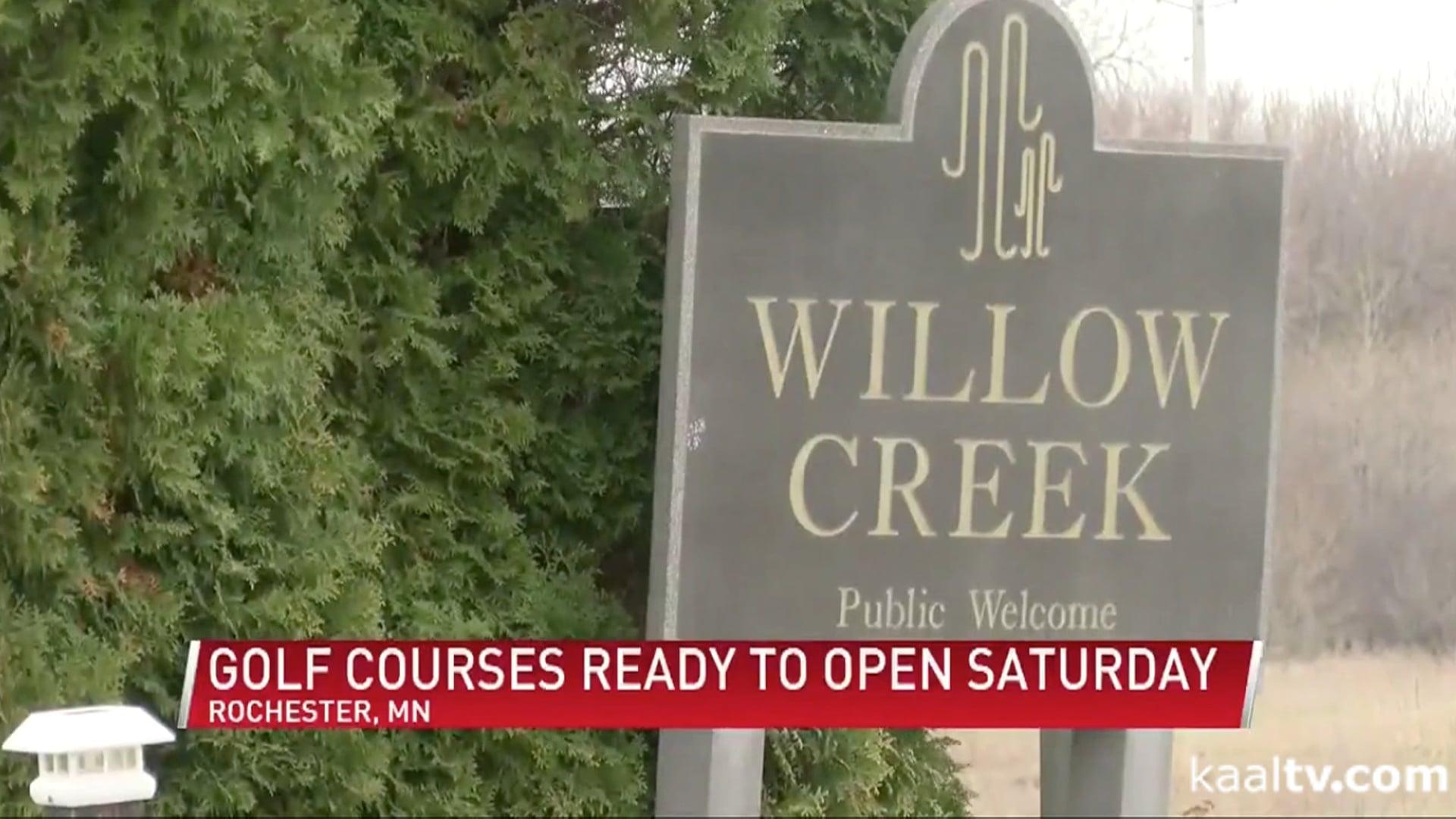 Minnesota open for golf