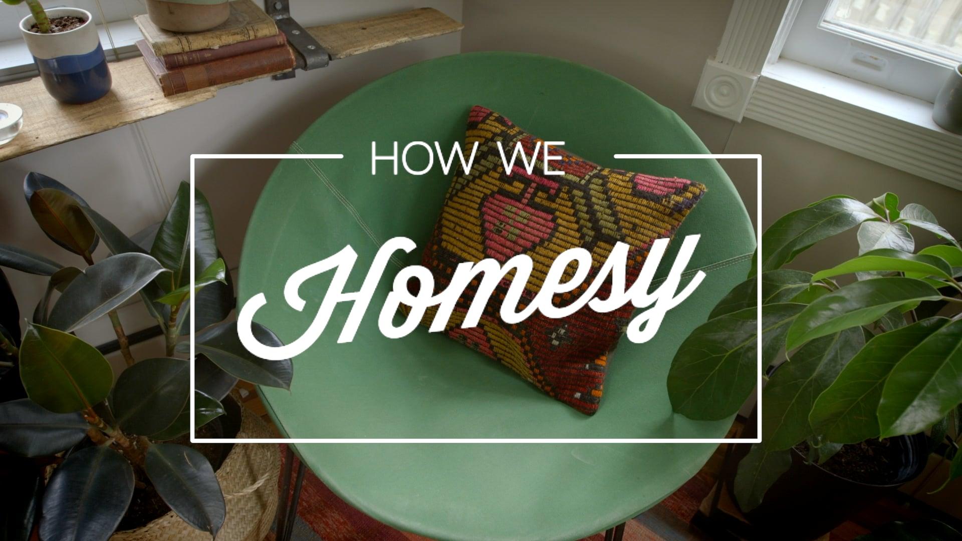 HOW WE HOMESY: Create a Cozy Corner
