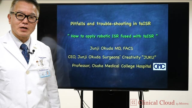 奥田 準二先生:Pitfalls and trouble-shooting in taISR -Part1-