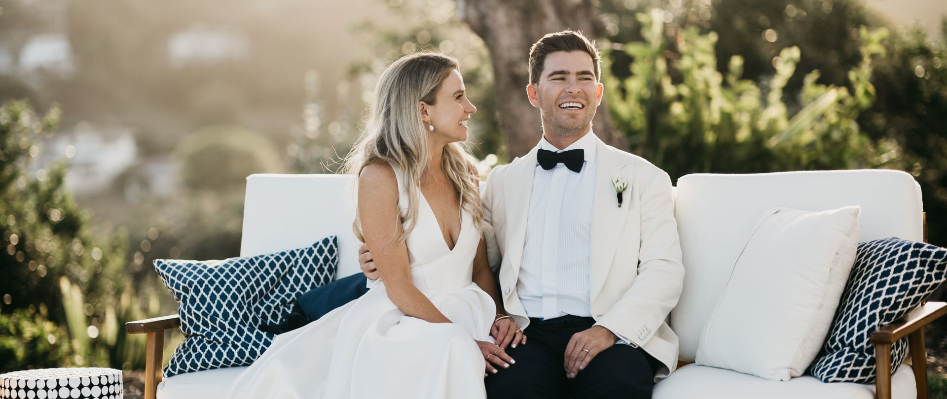 Charlotte & Nick Wedding Video Filmed at Waiheke Island, New Zealand