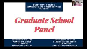 Graduate School Panel: April 20, 2020