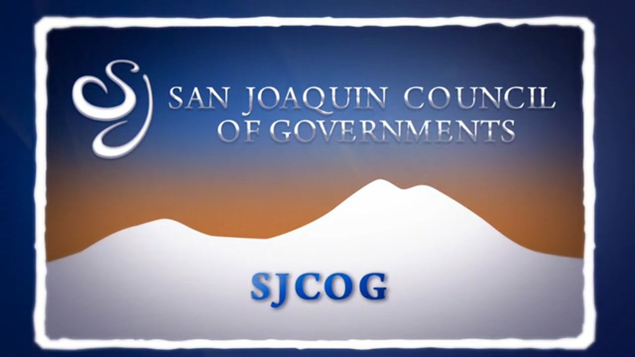 SJCOG Agency Overview - San Joaquin Council of Governments