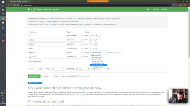 2020-04-21 Generar contenido e importar desde excel