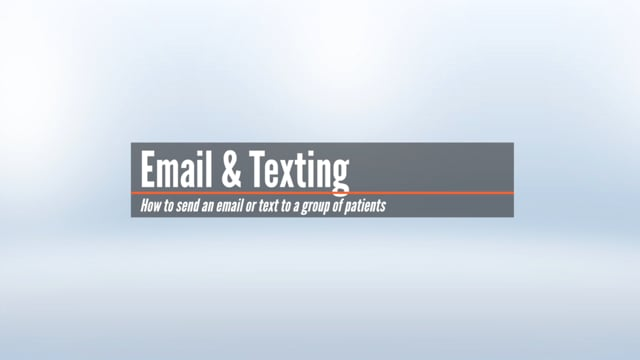 Sending Emails & Texts in a Group