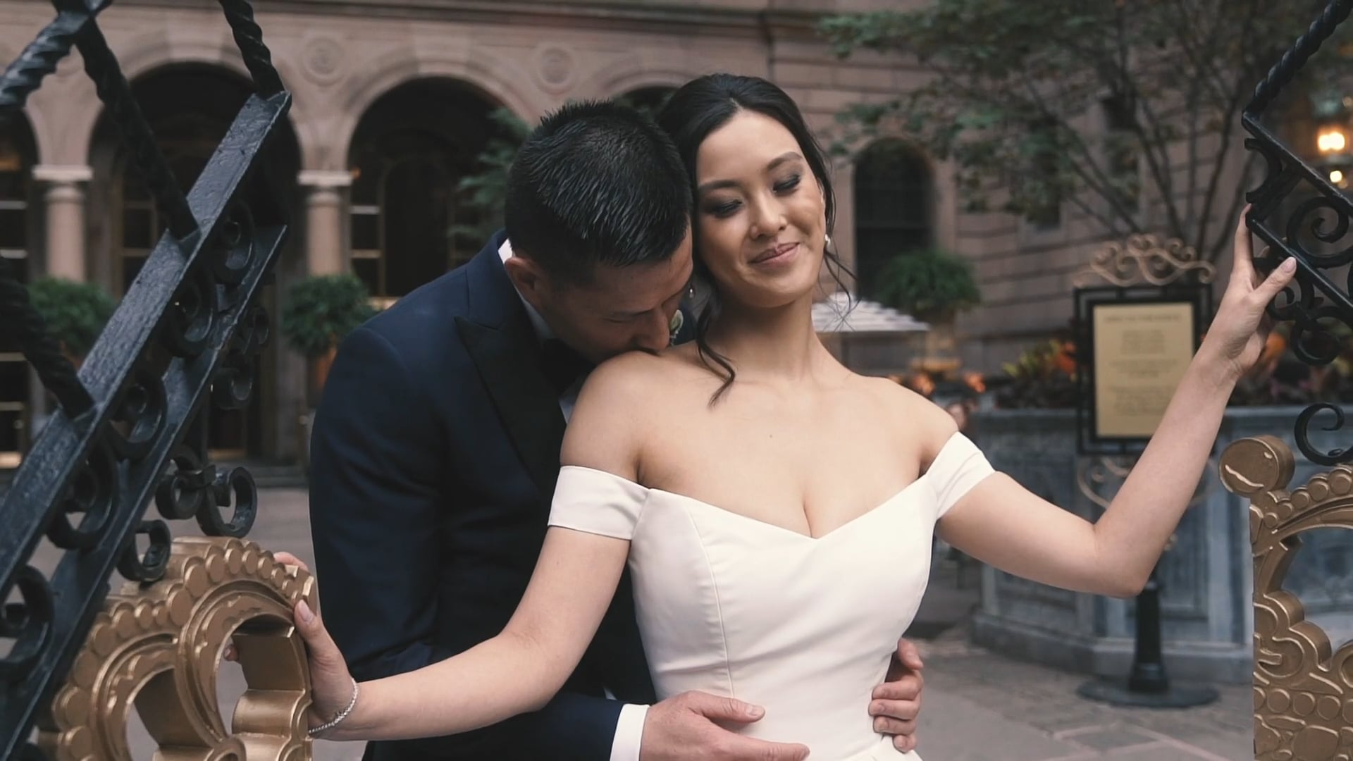 A Fairy Tale Wedding at the New York Lotte Palace | Jocelyn & Al | Wedding Film