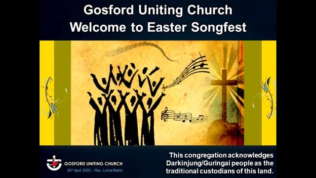 Easter SongFest 26/4/2020 - Rev Lorna Martin