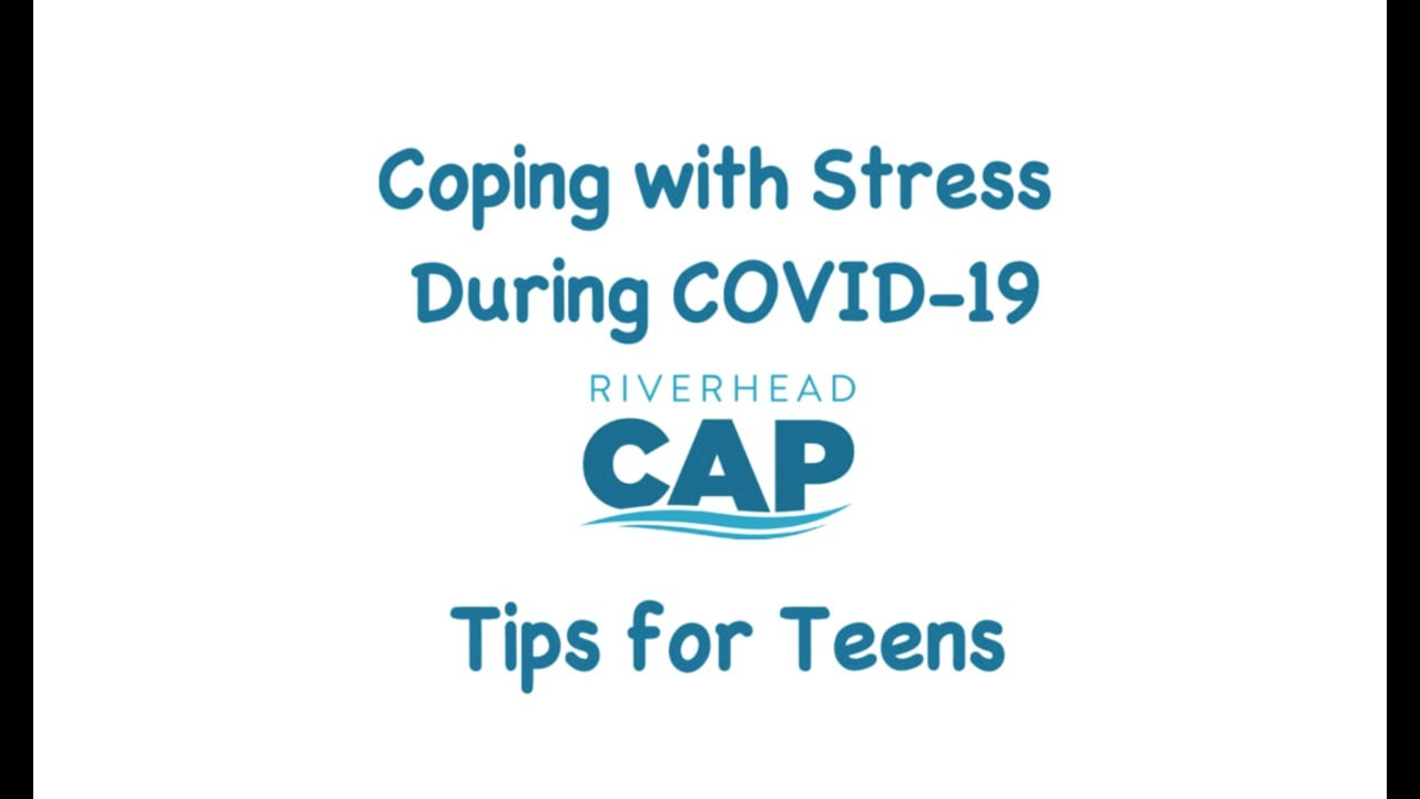 Coping with Stress During COVID-19 for Teens