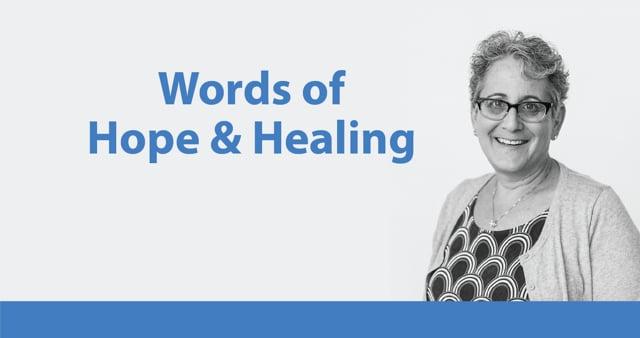 Words of Hope & Healing from Rabbi Beiner