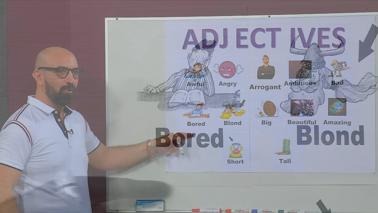 Adjectives and Classroom Objects