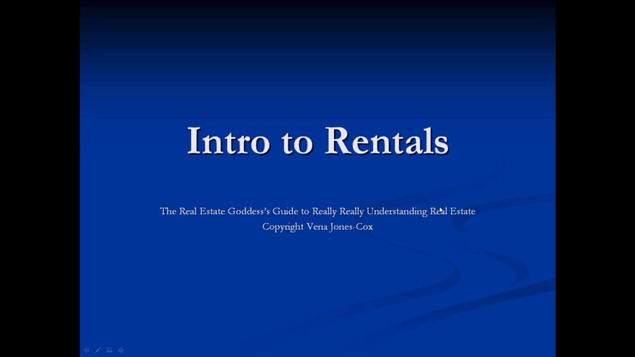 Intro to Rentals