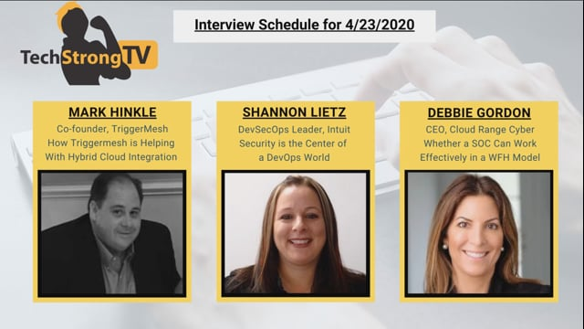 TechStrong TV - April 23, 2020
