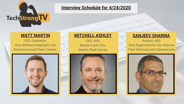 TechStrong TV - April 24, 2020
