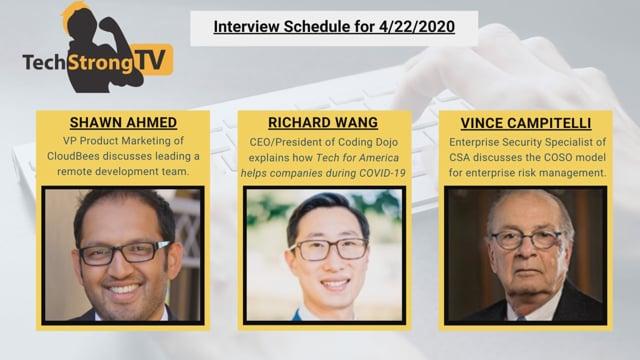 TechStrong TV - April 22, 2020