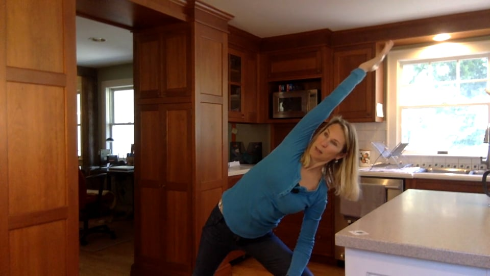 Yoga with Mary – Kitchen Yoga Morning Stretch