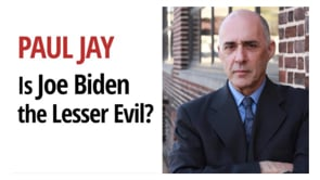 Is voting for Biden the lesser Evil? Can the Left still unite around a vision? Debate with Paul Jay