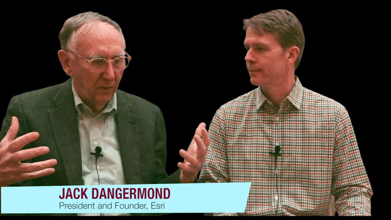 Interview with Esri President Jack Dangermond
