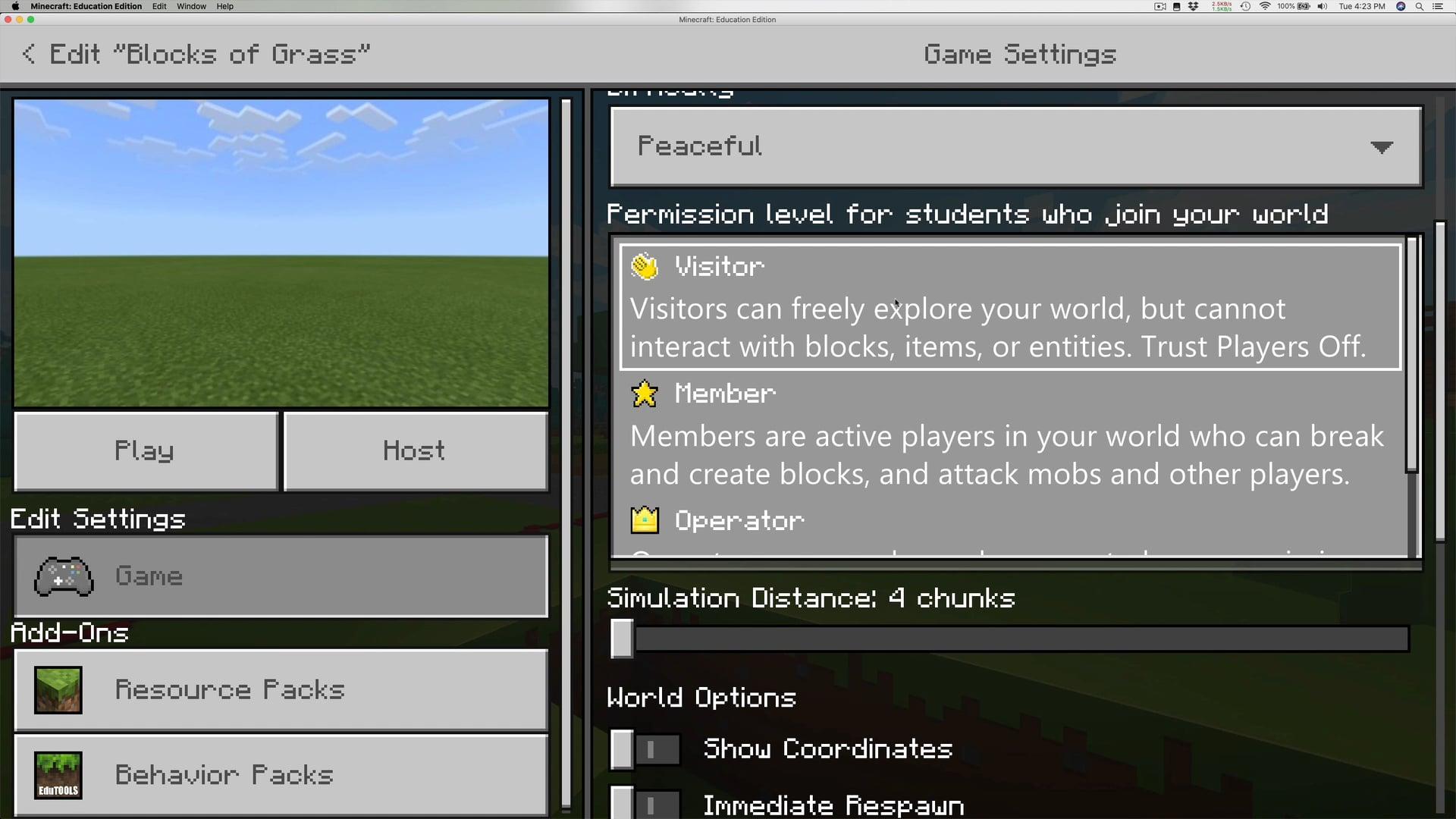 Part 2: Settings Classroom Mode