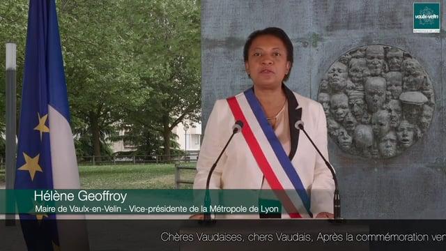 Vidéo commémorative – Journée du souvenir des victimes et des héros de la Déportation