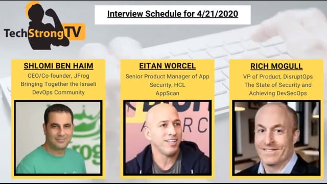 TechStrong TV - April 21, 2020