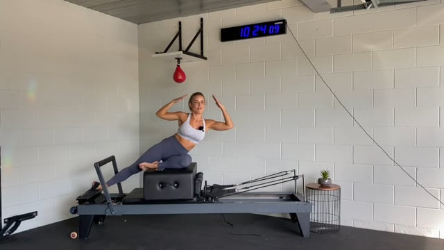 30min glute and ab focused reformer workout