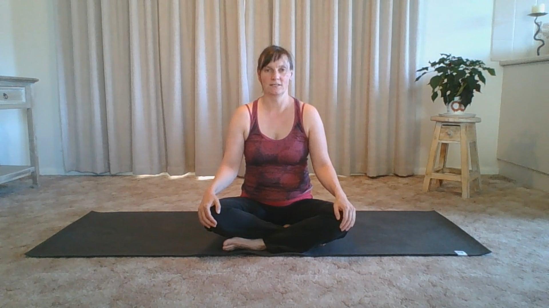 Gentle somatic yoga  - neck, back, hips