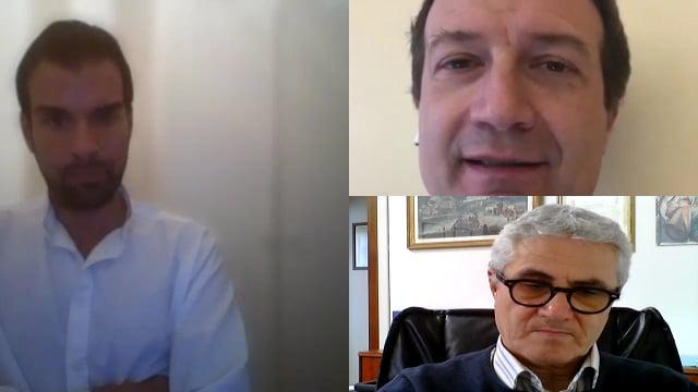 Marco Cuchel incontra Gianmauro Dell'Olio.